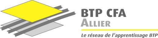 Logo BTP CFA Allier