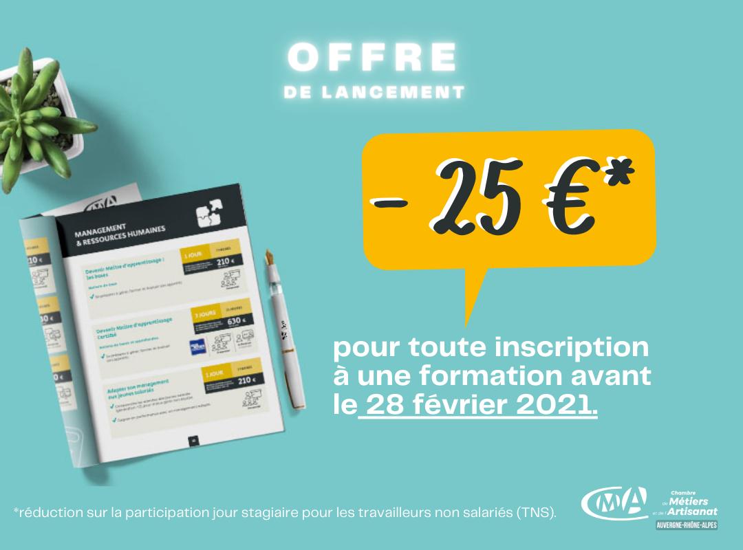 offre de lancement catalogue formations 2021