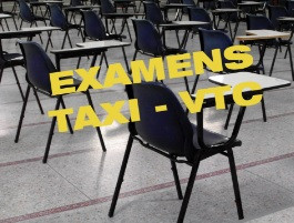 Visuel examen taxi